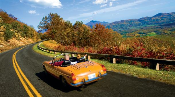 America's Favourite Drive - The Blue Ridge Mountains of Virginia with Bon Voyage
