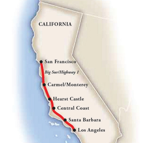 Classic California Fly Drive with Vacations to America