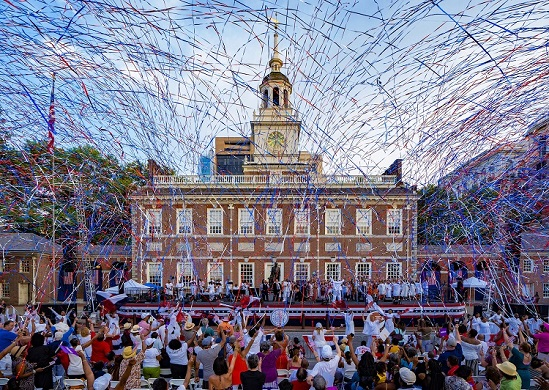 Celebrate The History Of The United States In The 'Birthplace Of America' - by Philadelphia Convention & Visitors Bureau