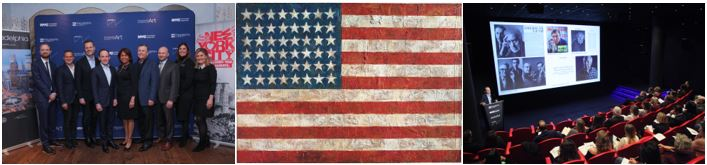 Philadelphia And NYC Unveil Jasper Johns: Mind/Mirror Retrospective During London Preview - by Philadelphia Convention & Visitors Bureau