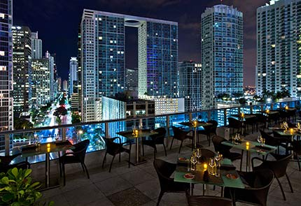 MIAMI'S BEST TRENDSETTING ROOFTOP BARS - by Greater Miami Convention & Visitors Bureau