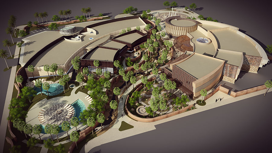 Agua Caliente Cultural Plaza set to open in Palm Springs in 2020 - by Visit Palm Springs