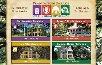 New Orleans Plantation Parade