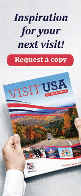 Request a copy of the USA travel planner