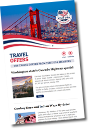 Visit USA travel offers newsletter