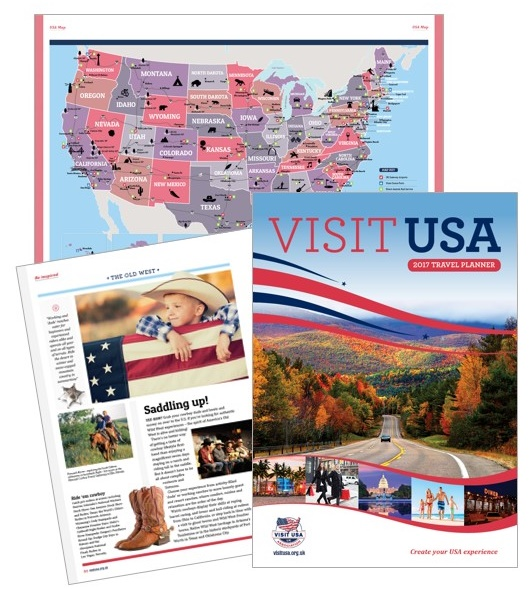 A 68 page guide full of things to do and see in America